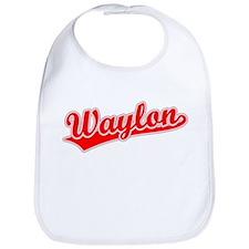 Retro Waylon (Red) Bib