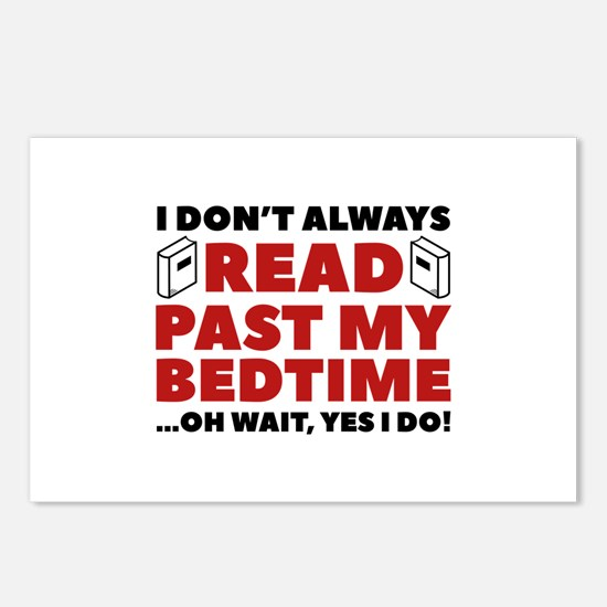 Read Past My Bedtime Postcards (Package of 8)