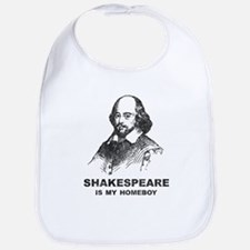 Shakespeare Is My Homeboy Bib