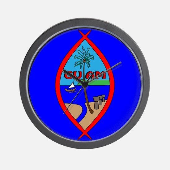 Guam Seal Wall Clock
