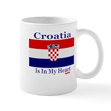 Croatia - Heart Mug