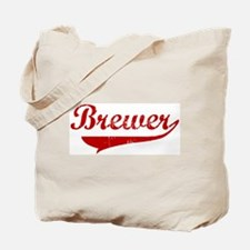 Brewer (red vintage) Tote Bag