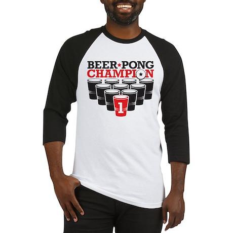 Beer Pong Champion Baseball Jersey