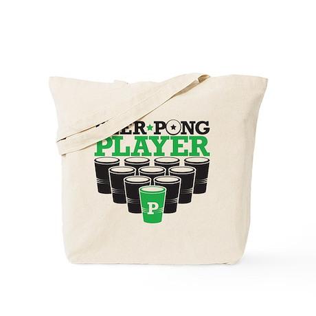 Beer Pong Player Tote Bag