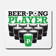 Beer Pong Player Mousepad