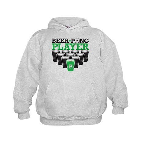 Beer Pong Player Kids Hoodie