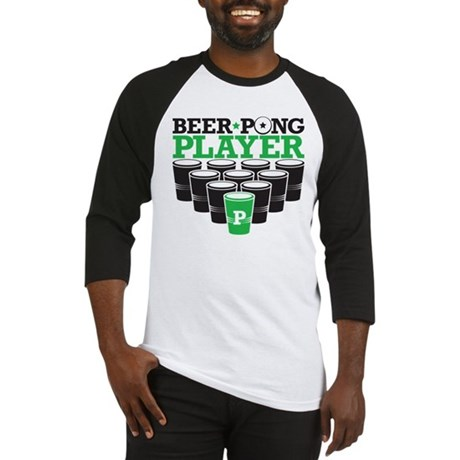 Beer Pong Player Baseball Jersey