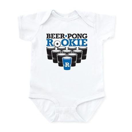 Beer Pong Rookie Infant Bodysuit