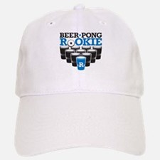 Beer Pong Rookie Baseball Baseball Cap
