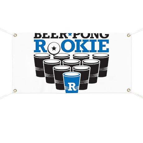 Beer Pong Rookie Banner