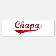 Chapa (red vintage) Bumper Bumper Bumper Sticker