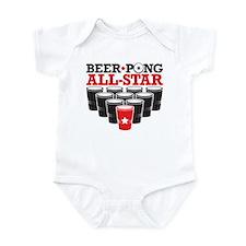 Beer Pong All Star Infant Bodysuit