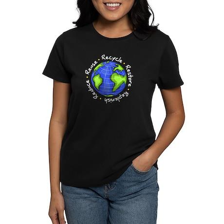 Recycle - Reduce - Reuse - Replenish Women's Dark
