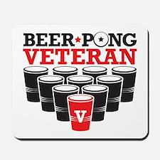 Beer Pong Veteran Mousepad