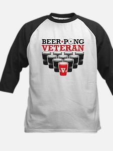 Beer Pong Veteran Kids Baseball Jersey