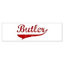 Butler (red vintage) Bumper Bumper Sticker