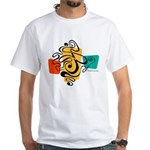 Smokey Joe White T-Shirt