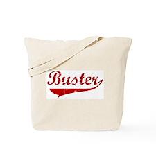 Buster (red vintage) Tote Bag