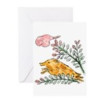 Hanafuda - July - Greeting Cards (Pk of 10)