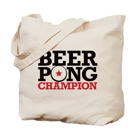 Beer Pong - Champion Tote Bag