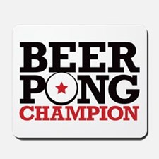 Beer Pong - Champion Mousepad