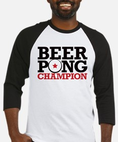 Beer Pong - Champion Baseball Jersey