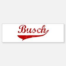 Busch (red vintage) Bumper Bumper Bumper Sticker