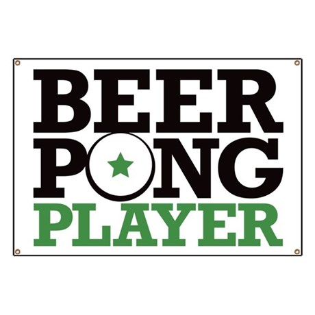 Beer Pong - Player Banner