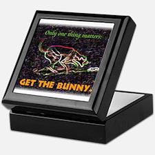 Lure course/bunny Keepsake Box