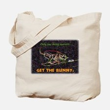 Lure course/bunny Tote Bag