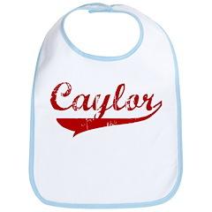 Caylor (red vintage) Bib