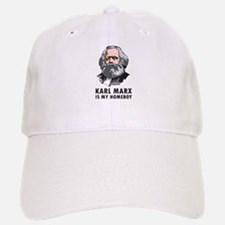 Karl Marx Is My Homeboy Baseball Baseball Cap