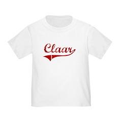 Claar (red vintage) T