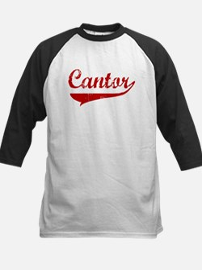 Cantor (red vintage) Kids Baseball Jersey