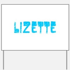 Lizette Faded (Blue) Yard Sign