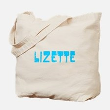 Lizette Faded (Blue) Tote Bag