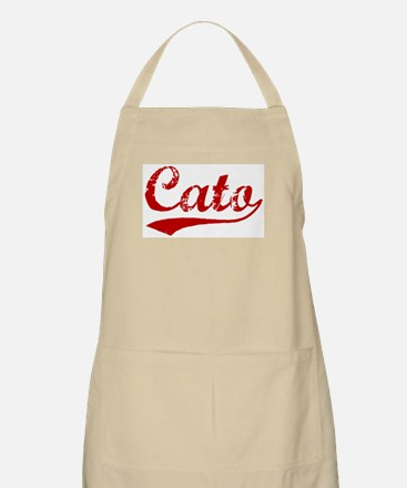 Cato (red vintage) BBQ Apron