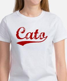 Cato (red vintage) Tee