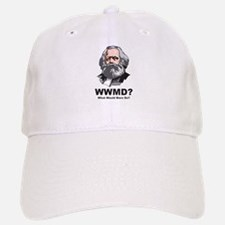What Would Marx Do Baseball Baseball Cap