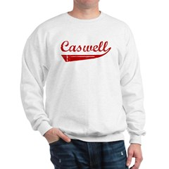 Caswell (red vintage) Sweatshirt