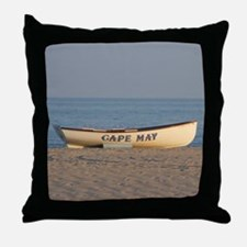 Cape May Lifeboat Throw Pillow