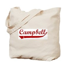 Campbell (red vintage) Tote Bag