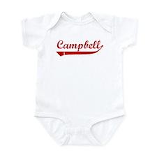 Campbell (red vintage) Infant Bodysuit