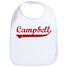 Campbell (red vintage) Bib