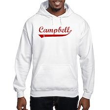 Campbell (red vintage) Hoodie Sweatshirt