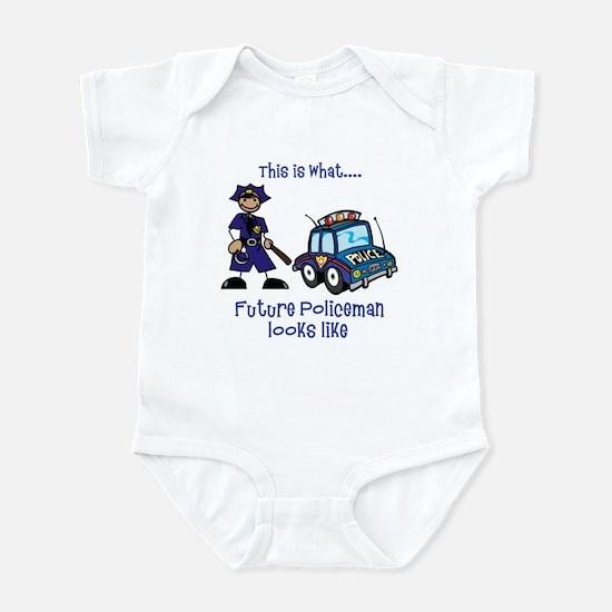 What future Policeman looks like Infant Bodysuit