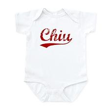 Chiu (red vintage) Infant Bodysuit