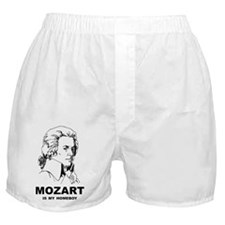 Mozart Is My Homeboy Boxer Shorts