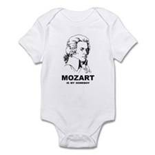 Mozart Is My Homeboy Infant Bodysuit