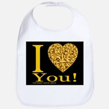 I (Heart) You Bib